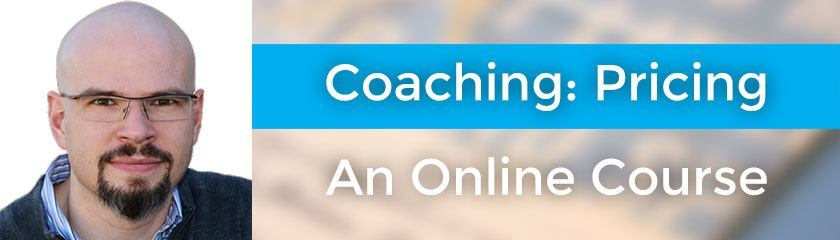 Coaching: Pricing An Online Course with Caleb Simonyi-Gindele
