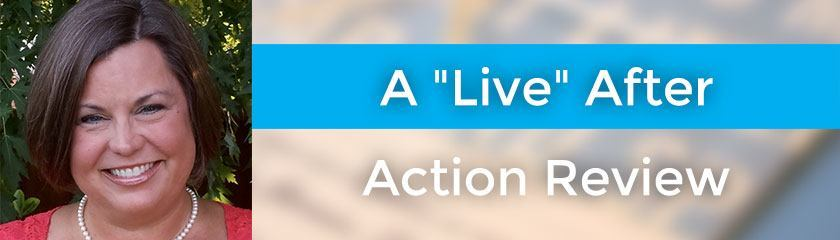 A Live After Action Review with Susan Fennema – 057