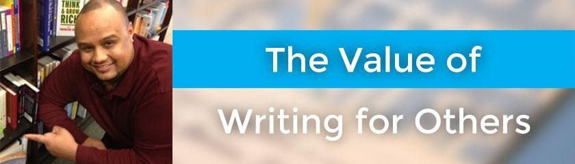 The Value of Writing for Others with Kimanzi Constable