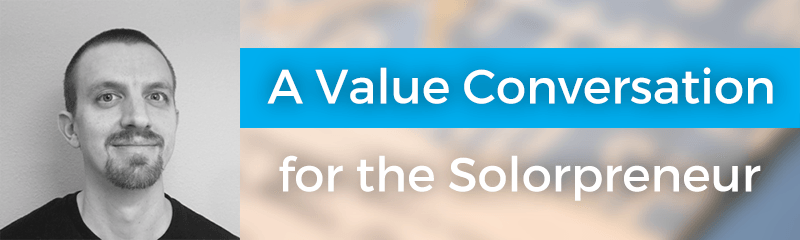 A Value Conversation for the Solorpreneur with Eric Davis