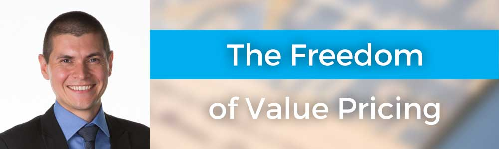 The Freedom of Value Pricing with Chris Blunt
