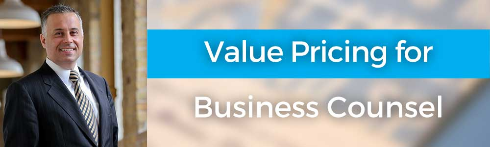 Value Pricing for Business Counsel with Peter Carayiannis – 114