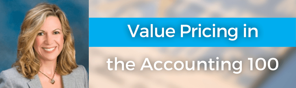 Value Pricing in the Accounting 100 with Michelle Golden